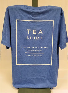 Heather Royal Tea Shirt Back