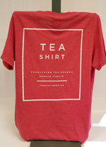 Load image into Gallery viewer, Heather Red Tea Shirt Back
