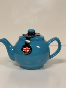 2 Cup or 6 Cup Blue Teapots