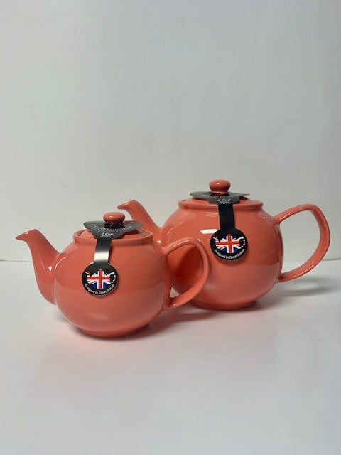 2 Cup or 6 Cup Flamingo Teapots