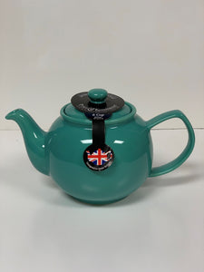 2 Cup or 6 Cup Jade Green Teapots