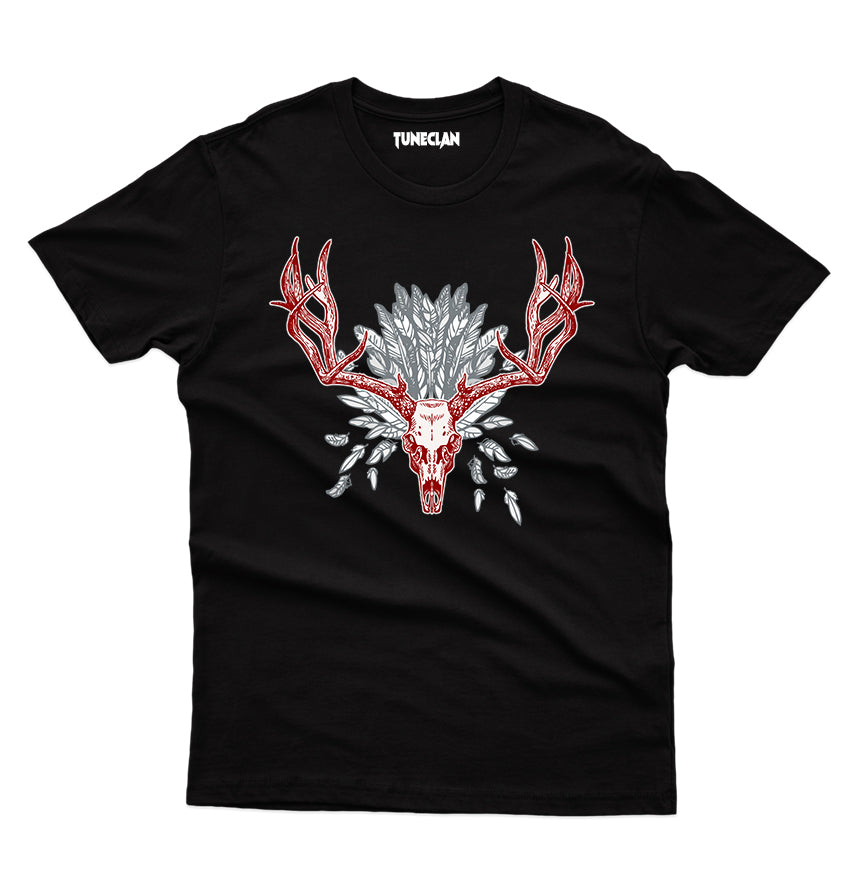 Red Horns T-Shirt - TuneClan