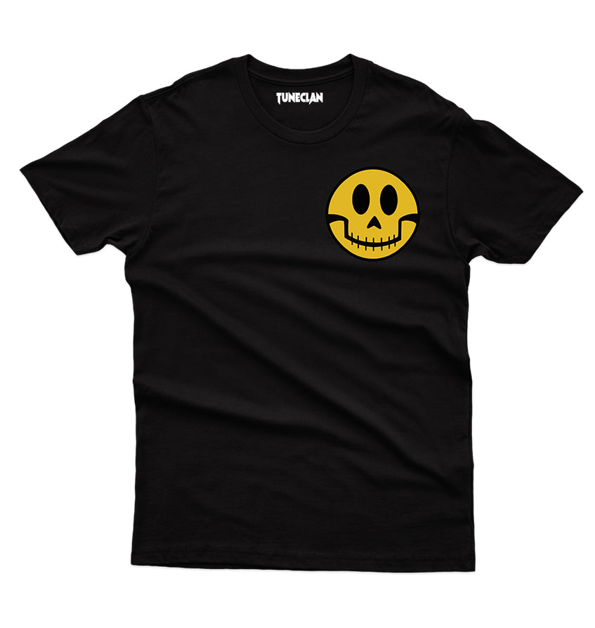 Smiley Ghost T-Shirt - TuneClan