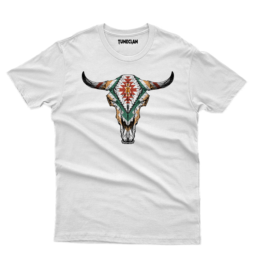Tribal Bull T-Shirt - TuneClan
