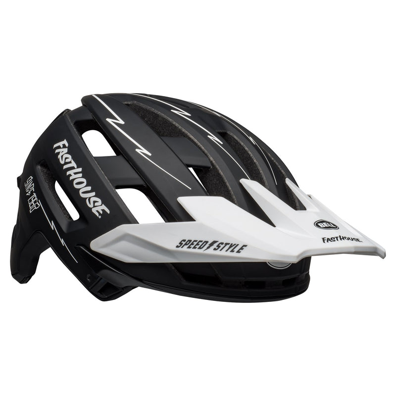 Fasthouse Bell Super Air Spherical Mips MTB Helmet Matte Black/White