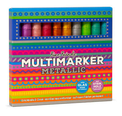 MULTIMARKER METALLIC 10er Set