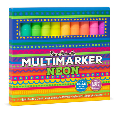 MULTIMARKER NEON 10er Set