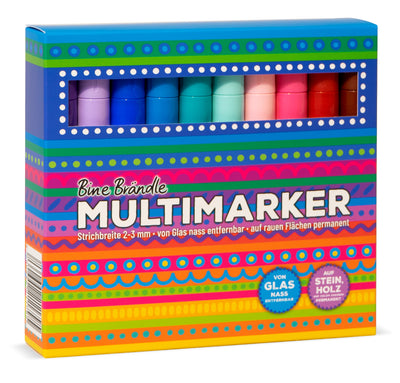 MULTIMARKER 20er Set Vorderseite