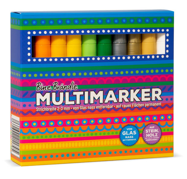 MULTIMARKER 20er Set Rückseite