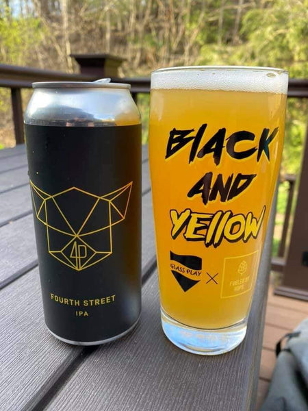 The Black & Yellow Glass
