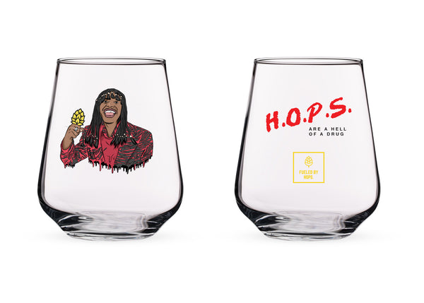 The Rick James Glass v2.0 (Yellow Hop Edition)