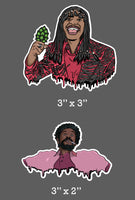 Rick James x Leonard Washington Sticker Pack (2 Sticker Pack)