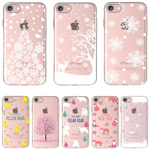 Soft Silicon Christmas iPhone Case - Jewelry King Shop