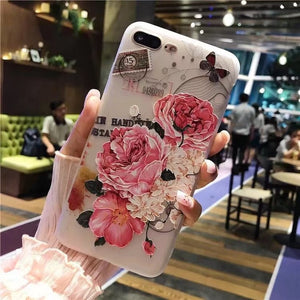 Flower iPhone Case - Jewelry King Shop