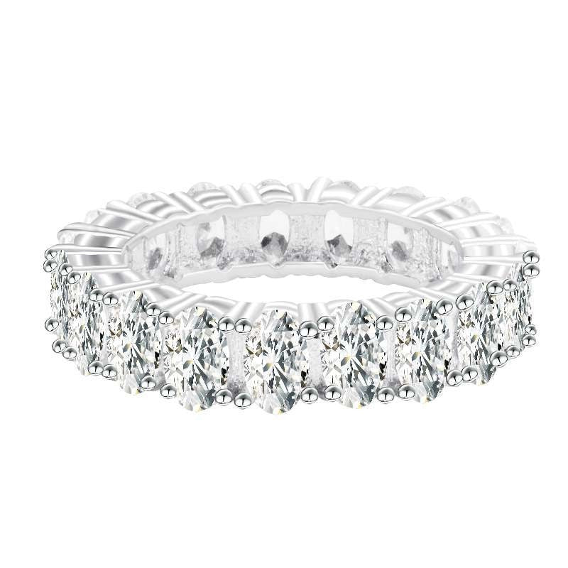 Ariadne Sterling Silver Eternity Band - Jewelry King Shop
