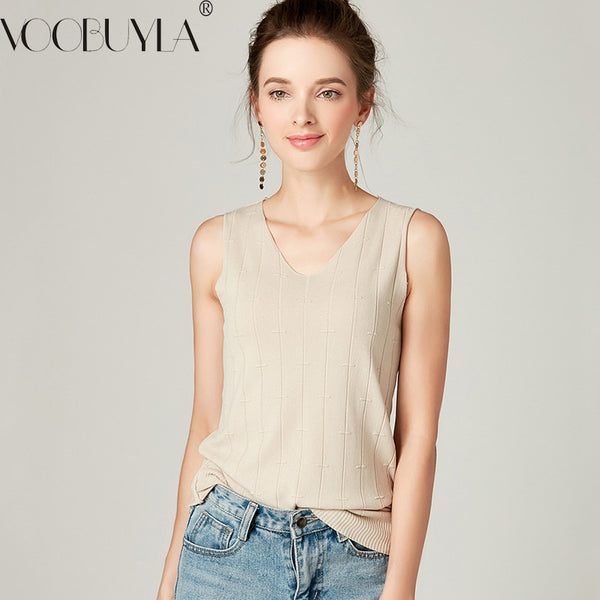 Autumn Women Knitted Vest Tops - ShopOnlineNG01