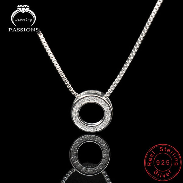 Newest Fashion Elegant Rhinestone Necklaces & Round Pendants Neckalce - ShopOnlineNG01