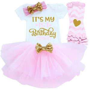 1 Year Old Birthday Baby Girl Outfit