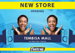 New electronics and music instrument store opening in Johannesburg, Gauteng.