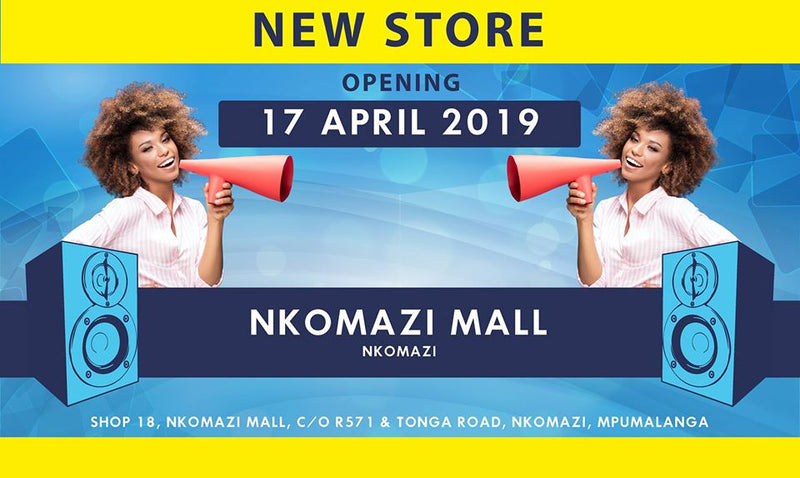 New electronics and music instrument store opening in Tonga, Mpumalanga.