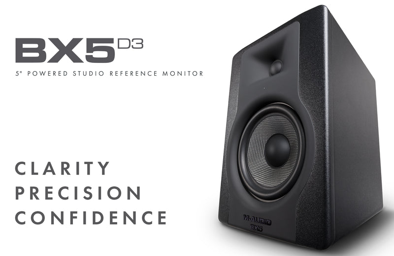 M-AUDIO SOLIDIFIES INDUSTRY LEADERSHIP POSITION IN MONITORS WITH NEW BX D3 SERIES