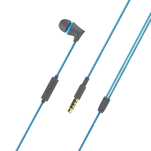 FTS 340BL In Ear Earphones Blue (4295064289347)