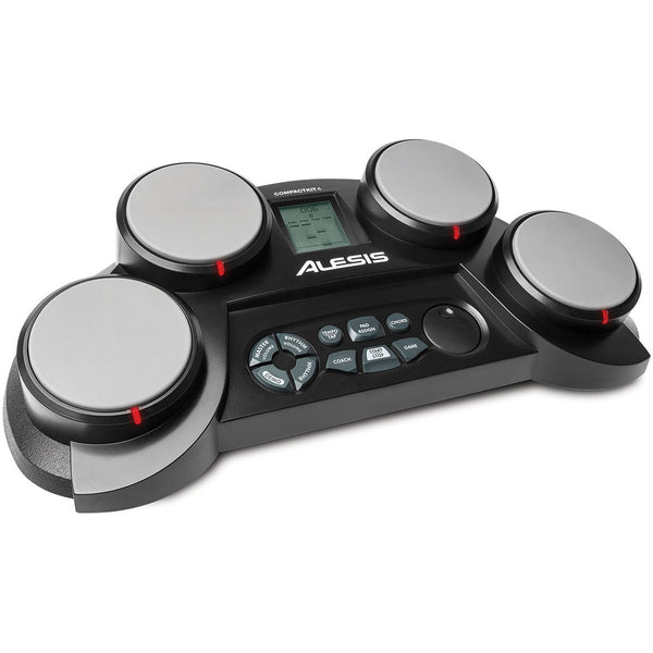 Alesis Compact Kit 4 4-Pad Portable Tabletop Electronic Drum Kit