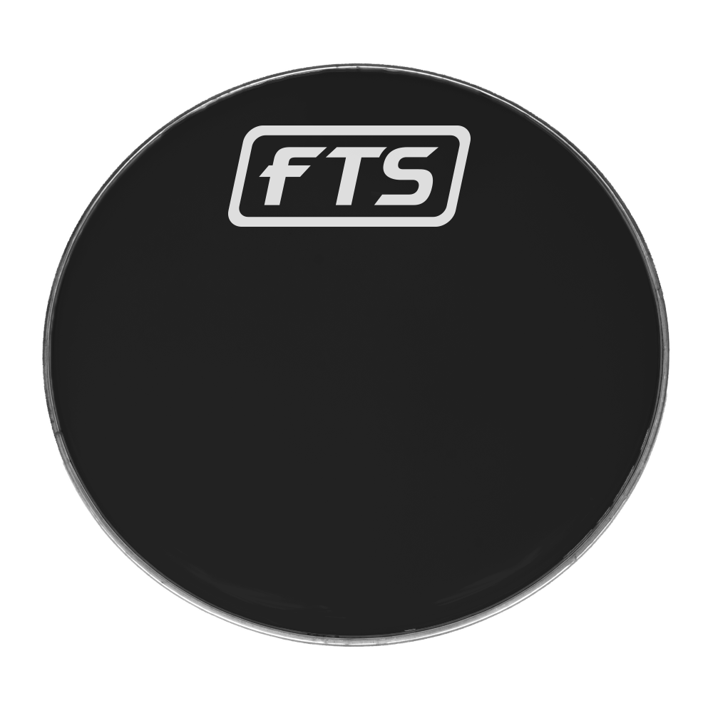 "FTS 22"" Black Drum Head 0.25mm"