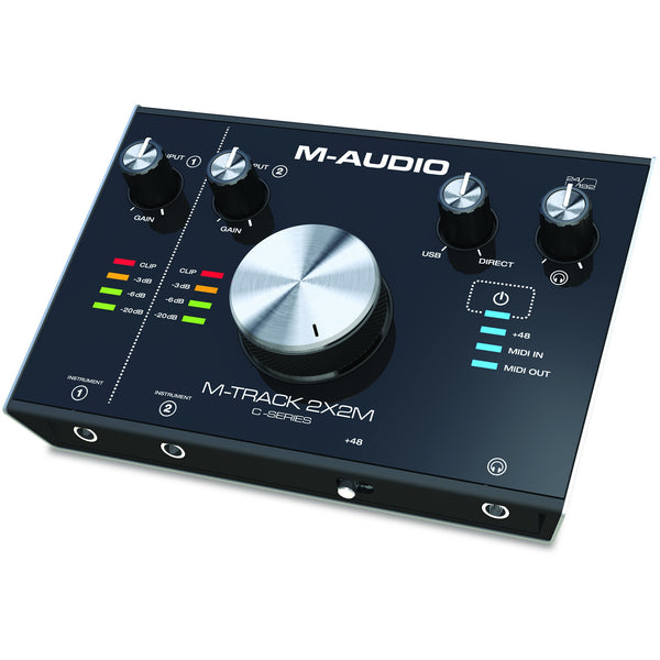 M-Audio M-Track 2X2M M-AUDIO AUDIO INTERFACE (4173574471747)