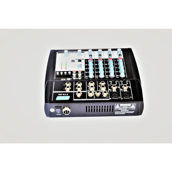 FTS E6 MKII 6CH Desktop Mixer With Usb (4173629653059)