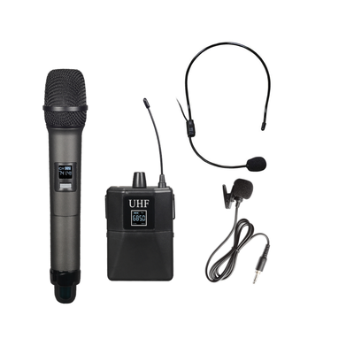 FTS Dual Handheld Wireless Microphones KU300