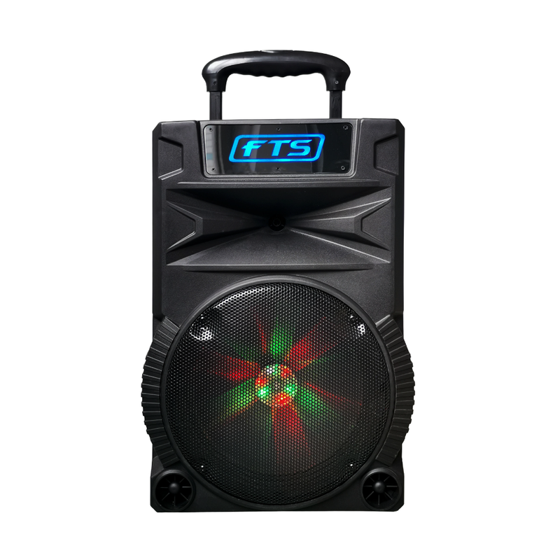 FTS 2012B MKII 12  Portable Plastic Speaker 1 Wireless Mic (4173641908291)