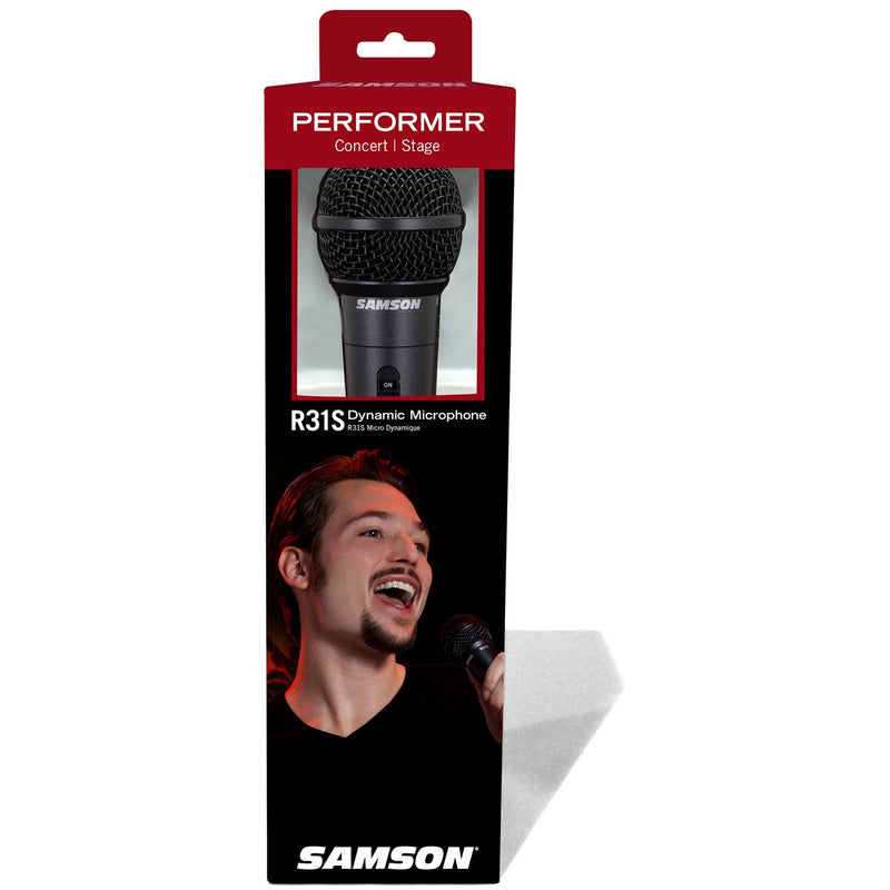 Samson SCR31S Samson R31S Mic w/Switch In Case (4173520175171)