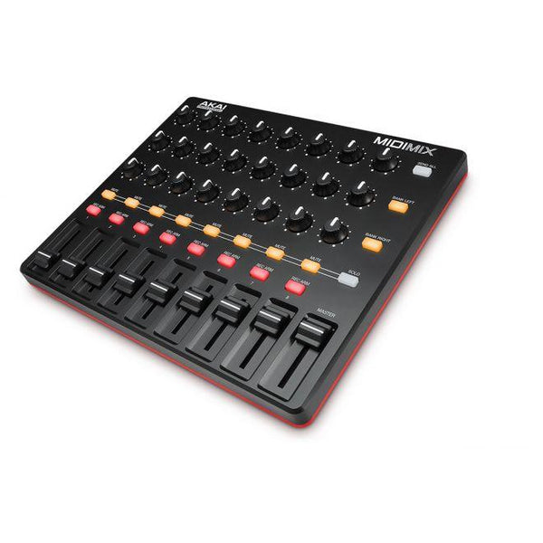 Akai-MIDI MIX 8 Channel portable MIDI Mixer,fastrak-sa.