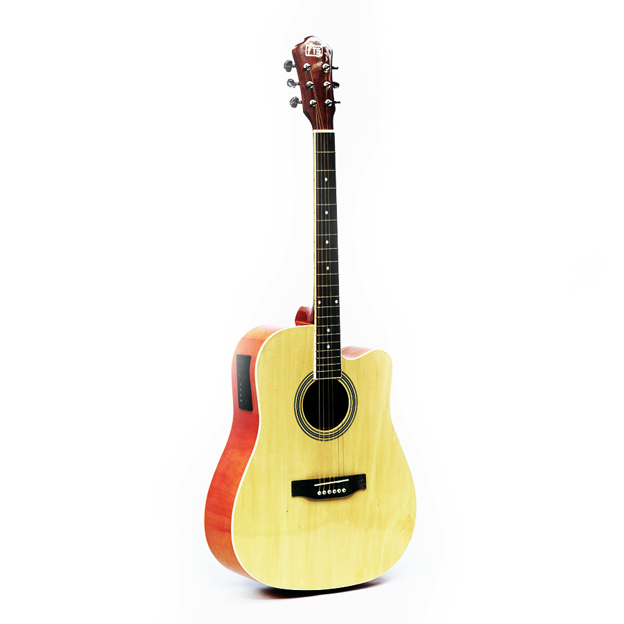 "FTS-HS-4111-RD 41"" Acoustic Guitar Red"