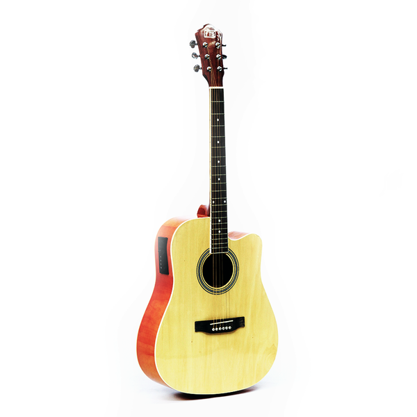 FTSAcoustic Guitar Red HS-4111-RD 41