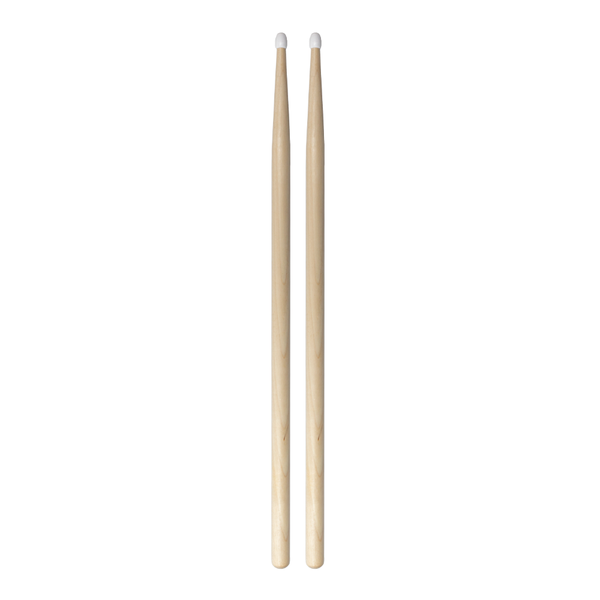 FTS 7A Maple Wood Drumsticks with Nylon Tip - fastrak-sa