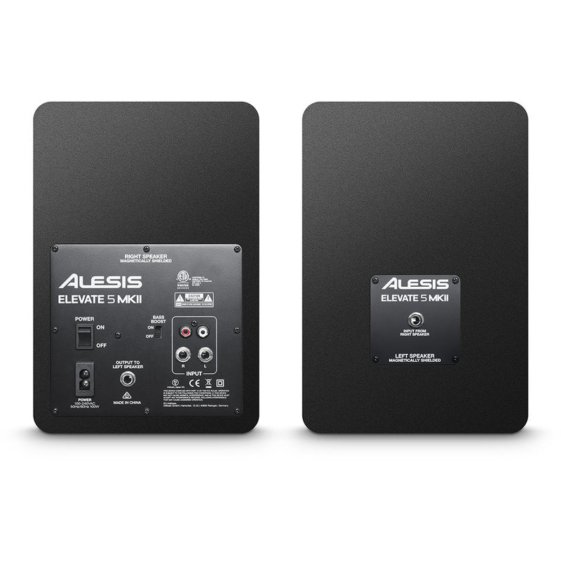 Alesis Elevate 5 MKII 5  Active Studio Monitors, boxed in pairs (4173572407363)