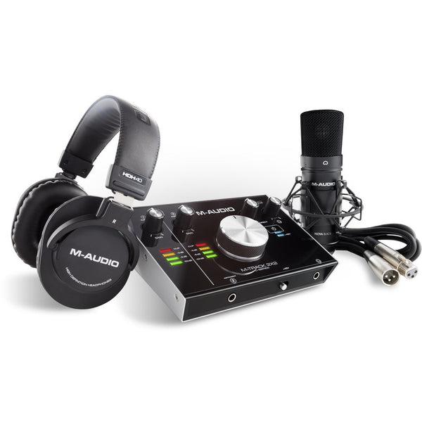 M-Audio MTRACK 2X2SPRO VOCAL PRODUCTION PACK,fastrak-sa.