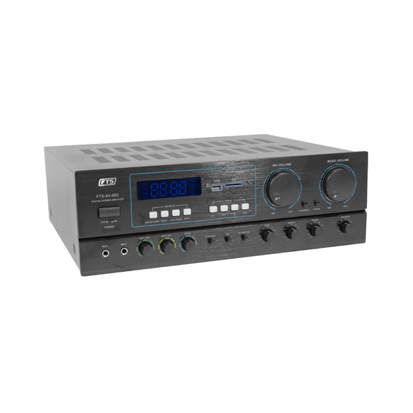 FTS 2 Channel Professional Stereo Amplifier - fastrak-sa (2100707328067)