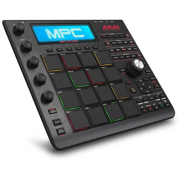 Akai-MPC STUDIO Slimline USB MPC Controller w Software and Samples (4489949544515)