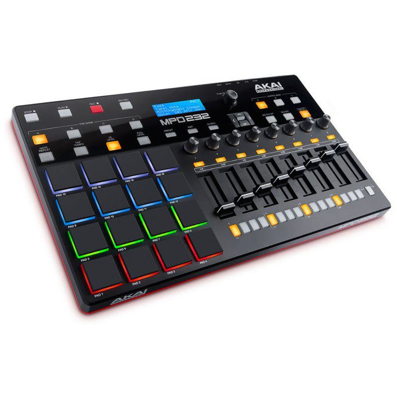 Akai-MPD 232 USB Pad Controller with Sequencer,fastrak-sa.