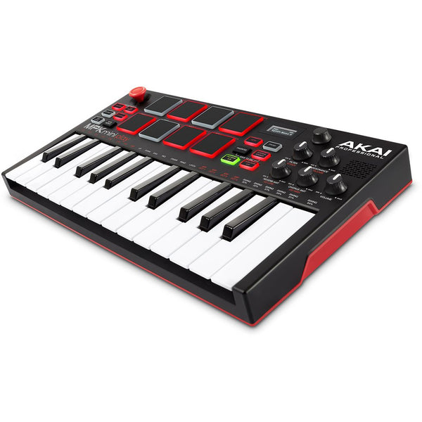 Akai-MPK MINI PLAY  Mini Keyboard with Built-in Speakers and USB MIDI Control,fastrak-sa.