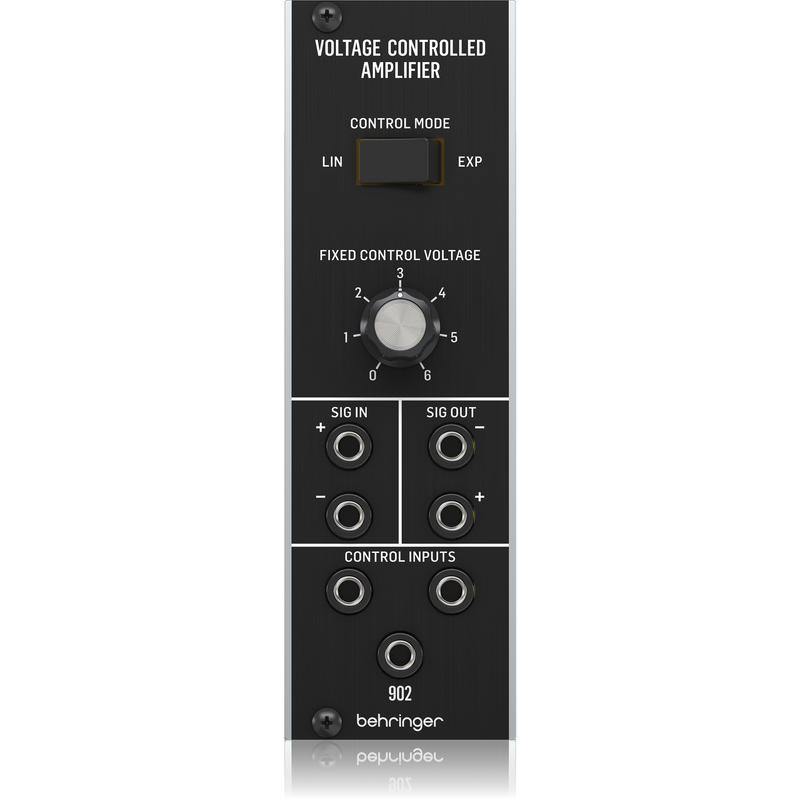 Behringer 902 VOLTAGE CONTROLLED AMPLIFIER Analog VCA Module for Eurorack,fastrak-sa.