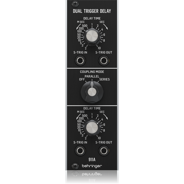 Behringer 911A DUAL TRIGGER DELAY Analog Dual Trigger Delay Module for Eurorack,fastrak-sa.