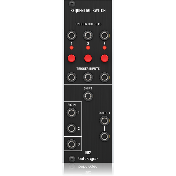 Behringer 962 SEQUENTIAL SWITCH Analog CV Multiplexer Module for Eurorack,fastrak-sa.