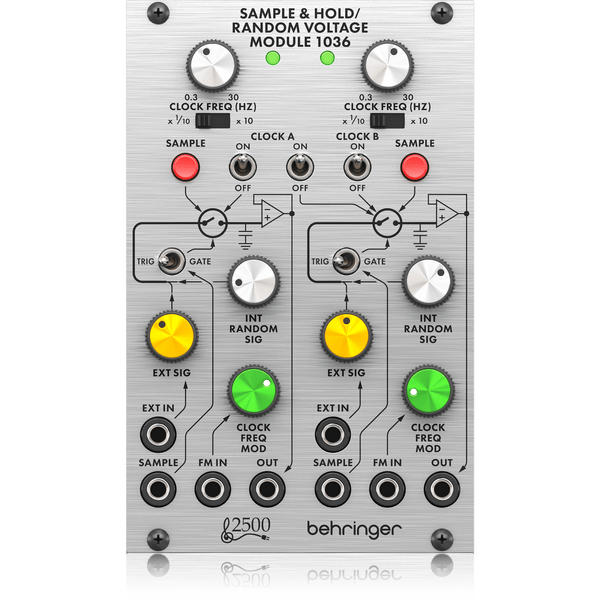 Behringer SAMPLE &HOLD / RANDOM VOLTAGE MODULE,fastrak-sa.