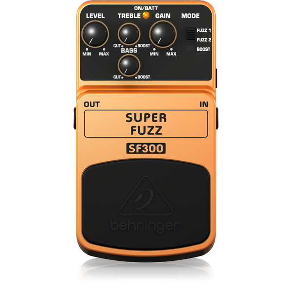 Behringer SF300 3-Mode Fuzz Distortion Effects Pedal,fastrak-sa.
