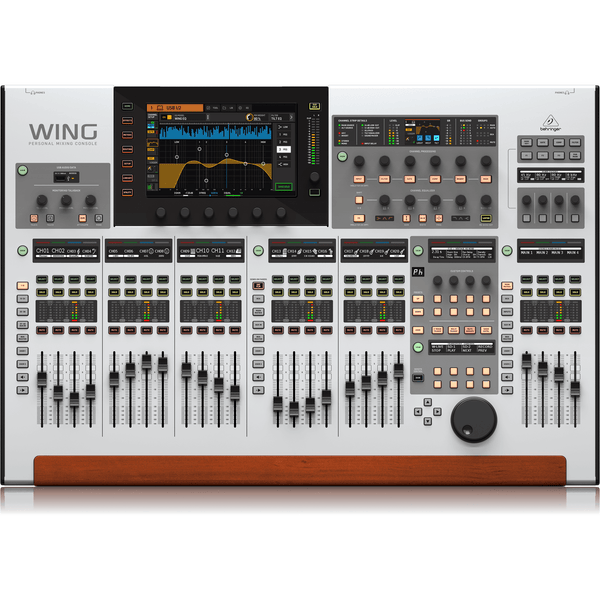 Behringer WING 48-Channel, 28-Bus Full Stereo Digital Mixing Console,fastrak-sa.