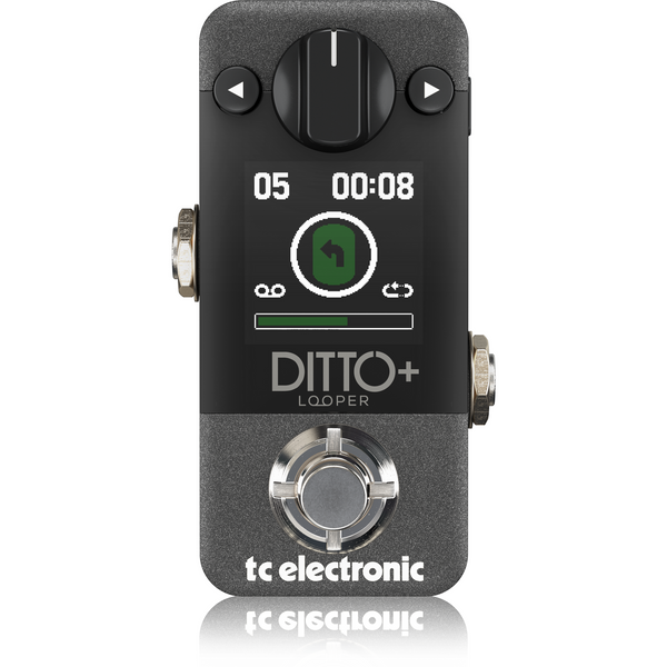 TC Electronic DITTO+ LOOPER Looper Pedal